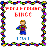 Addition and Subtraction Word problem BINGO- Superhero Theme CCSS aligned 1.OA.1