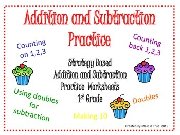 Addition and Subtraction Worksheets 0-18