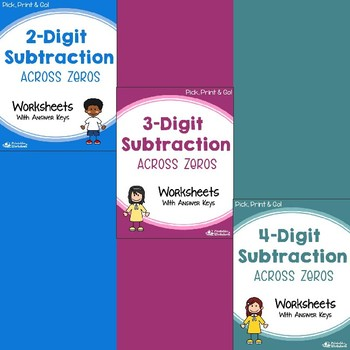 Multi Digit Addition And Subtraction Worksheets With Without