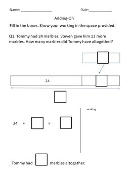 Addition and Subtraction Worksheets 1st Grade 2nd Grade