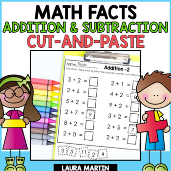 Back to School | Addition and Subtraction Worksheets | Distance Learning