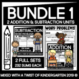 Addition and Subtraction Worksheets   Kindergarten