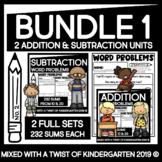 Addition and Subtraction Worksheets | Kindergarten