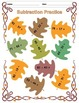 Addition and Subtraction Worksheets (Leaf Edition)