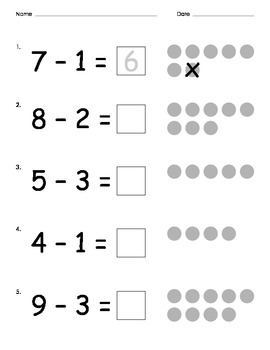 Addition and Subtraction Worksheets Packet
