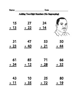 Addition and Subtraction Worksheets (Two-Digit) : Dr. Mart
