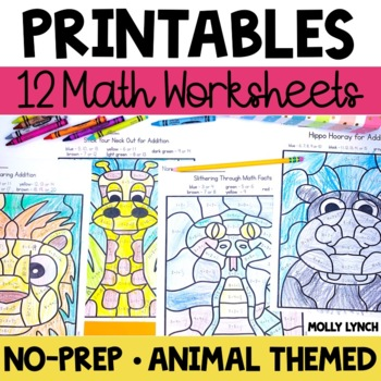 Addition and Subtraction Worksheets - Wild About Math!