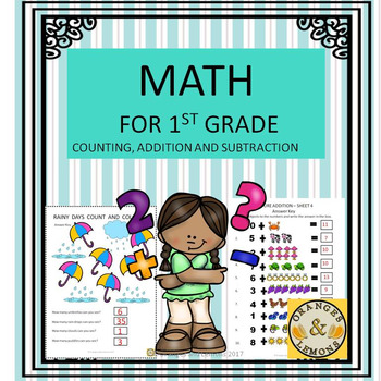 Math for 1st Grade (Counting, Addition and Subtraction)