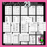 Addition and Subtraction Worksheets for Kindergarten to Ten   NO PREP
