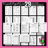 Addition and Subtraction Worksheets for Kindergarten   Add