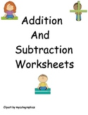 Addition and Subtraction Worksheets organized by strategies