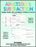 Addition and Subtraction Worksheets (within 10) - Distance Learning