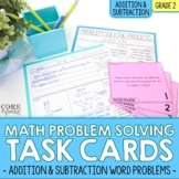 2nd Grade Addition & Subtraction Math Word Problem Task Ca
