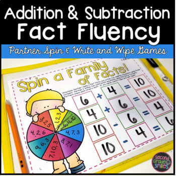 Addition and Subtraction Games | Fact Fluency Games