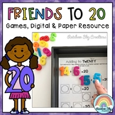 Addition and Subtraction to 20 - Digital and Paper Activit