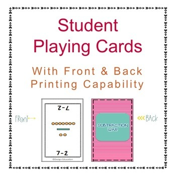 Addition and Subtraction and Counting Coins Games Bundle
