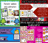 Addition and Subtraction center BUNDLE