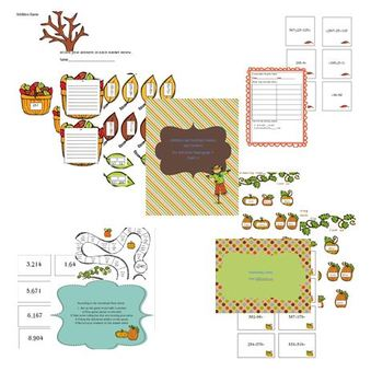 Addition and Subtraction centers for Topic 2 for EnVision Common Core