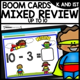 Addition and Subtraction facts to 10 BOOM CARDS Distance Learning