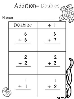 Addition and Subtraction for Kindergarten or First FREEBIE