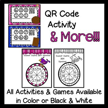 Addition and Subtraction games- double and triple digit