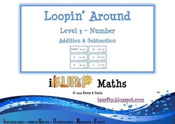 Loopin' Around: Level 3 - Addition and Subtraction