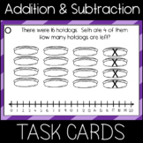 Addition and Subtraction in 20 with a Number Line