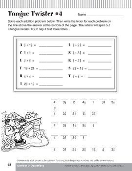Addition and Subtraction of Fractions