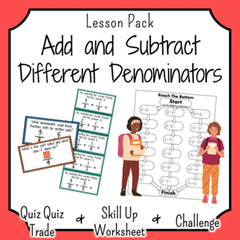 Addition and Subtraction of Fractions with Different Denominators