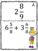 Addition and Subtraction of Mixed Numbers Scavenger Hunt