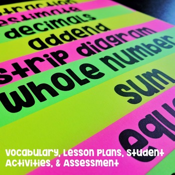 Addition and Subtraction of Whole Numbers and Decimals Unit