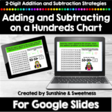 Addition and Subtraction on a Hundreds Chart Google Slides