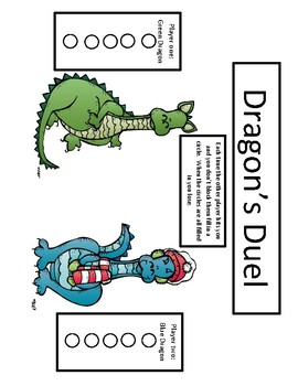 Addition and Subtraction (regrouping and ungrouping) Review Game (Dragon's Duel)
