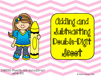 Addition and Subtraction regrouping scoot