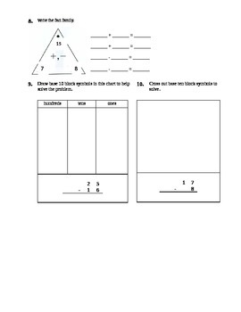 Addition and Subtraction strategies withing 100`