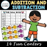 Addition and Subtraction Centers for 3rd Grade, Third Grad