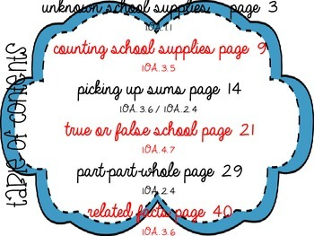 Addition and Subtraction to 10 [6 math center activities]
