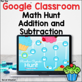 Addition and Subtraction to 10 Cupcake Hunt Game for the G