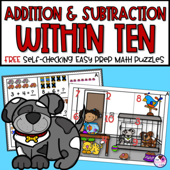 Addition and Subtraction to 10 FREE