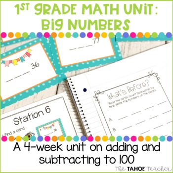 Addition and Subtraction to 100 | A 1st Grade Math Unit
