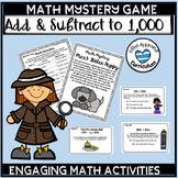 Math Mystery Grade 3 Third Grade Math Review Games