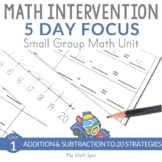 Addition and Subtraction to 20 | 2nd Grade Small Group Math Unit
