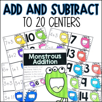 Addition and Subtraction to 20 Centers