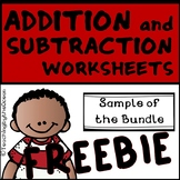 Addition and Subtraction to 20 Fact Fluency  - Freebie