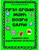 Addition and Subtraction to 20 First Grade {Board Game}
