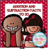 Addition and Subtraction to 20...Focus Chart, Tools, Games