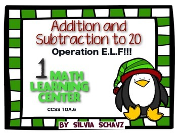 Addition and Subtraction to 20: Operation E.L.F.