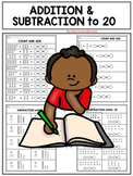 Addition and Subtraction to 20 with Base Ten Blocks
