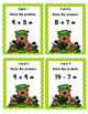 Addition and Subtraction up to 20 Scoot - Shamrock Bear