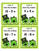 Addition and Subtraction up to 20 Scoot - Shamrock Pandas